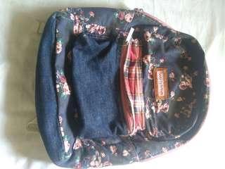 Heartstring Blue Floral Bag