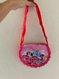 Tas selempang anak little pony (new)