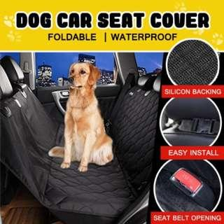 54x58inch Foldable Waterproof Dog Car Seat Cover Pet Carriers Truck Hammock pet Car Mat dogs Car Sea