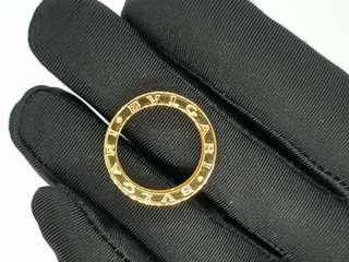 14K YELLOW GOLD INSPIRED BVLGARI BULGARI B.ZERO1 SINGLE BAND RING – SIZE 7.5