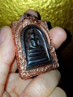 Leklai somdej -old copper casing