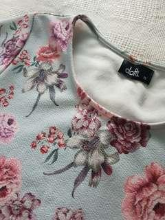 Floral Scallop Top