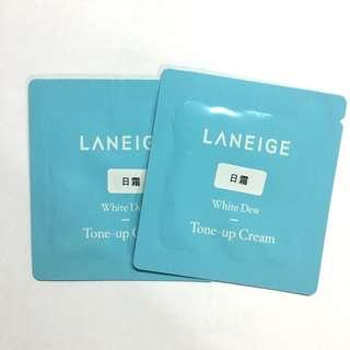 🌟Laneige White Dew Tone-Up Cream Sample