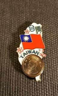 🚚 台灣特色國旗一元磁鐵