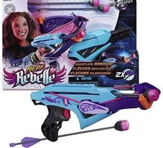 Brand New Nerf Rebelle Courage Crossbow