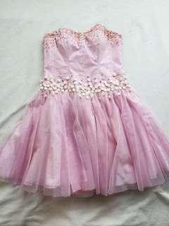 Pink Cocktail Dress (Prom)