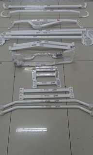 Ultra Racing safety bar - toyota Harrier 2013