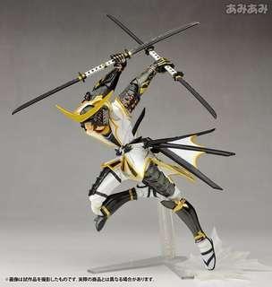 Revoletch 079 EX Sengoku Basara Date Masamune White Ver【日版】山口式 點囯 伊達政宗 白裝束 @KAZOEshop
