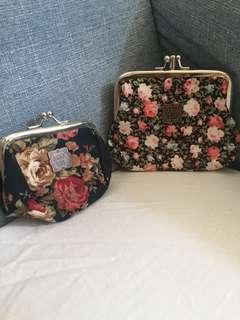 Anna Sui coin pouch $40 for 2