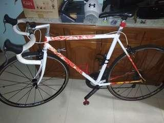 Rare Classic Shimano Tange Aero Road bike.