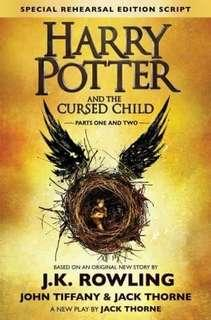 Harry Potter & The Cursed Child parts 1 and 2