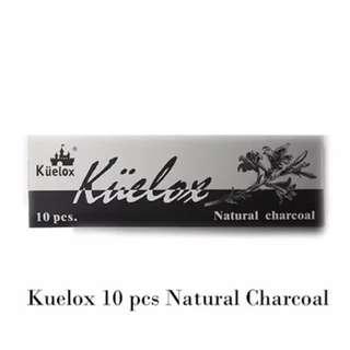 🚚 KUELOX Natural Charcoal 3-6mm/6-8mm