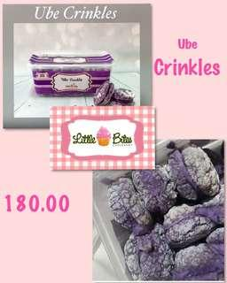 Ube Crinkles by Little Bites