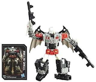 [Brand New] Transformers Titans Return  - Deluxe Class Autobot Twinferno and  Daburu