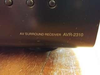 Denon home theatre AV amplifier