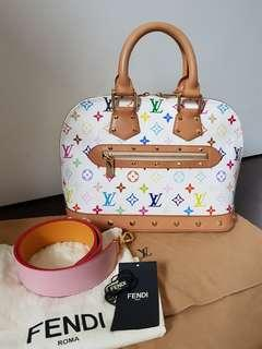 Louis Vuitton LV Multicolore Alma & Fendi Strap You