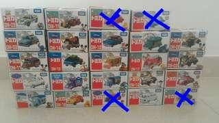Tomica Cars Characters Disney and Dream works