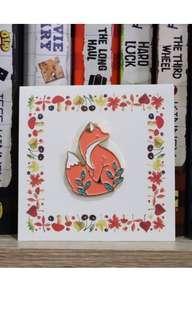 Enamel Pin Fox :)