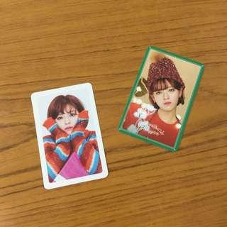 [wts] twice jeongyeon merry and happy pcs