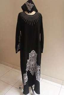 Gamis Pesta + Hijab