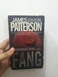 Books for sale! James Patterson FANG