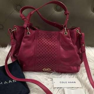 Authentic Cole Haan Ripley Electra Satchel Bag
