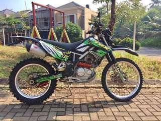 Kawasaki KLX 150cc Tangan Ketiga KM Rendah Jakarta Selatan