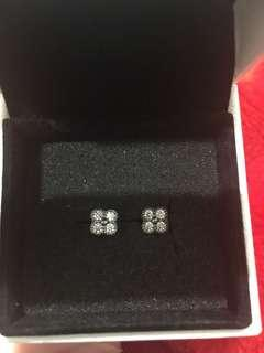 Pandora flower earring