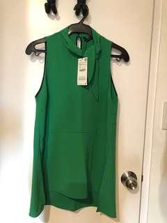 Zara Green Top (US XS)