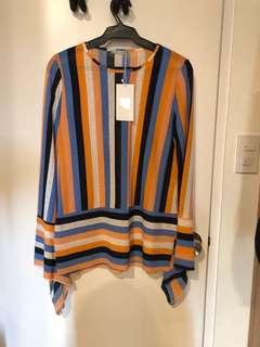 Zara Striped Top (US S)