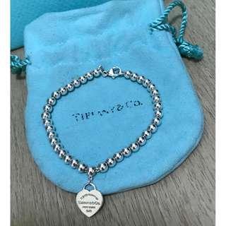 原價$1400 Return to Tiffany 串珠手鍊 Bracelet