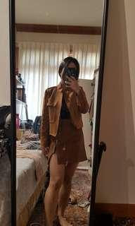 Jacket and Skirt - set