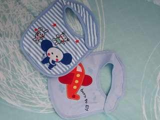 Baby bibs not used
