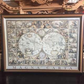 Magna Carta framed jigsaw puzzle
