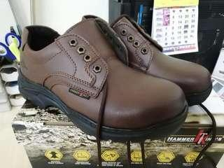 Genuine Leather Safety Boots size 40