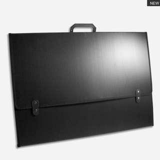 IMPRABOARD Portfolio Bag Art Bag A2 Black color