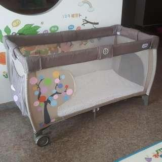 Playpen baby cot size