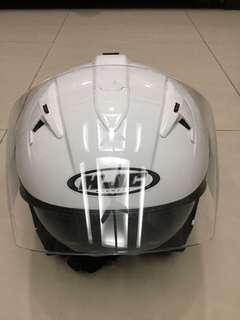 HJC helmet double visor