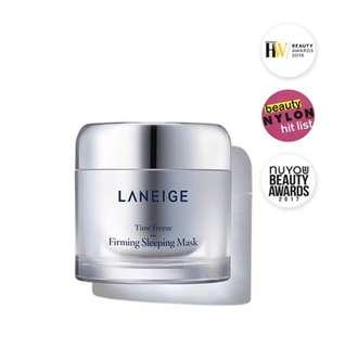 ✨Instock Authentic Laneige Time Freeze Firming Mask