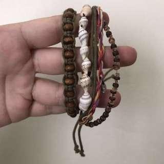 Seashell Bracelet Set