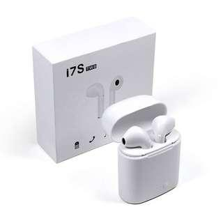 New Double Ear bluetooth Stereo Headsets Mini i7s Tws