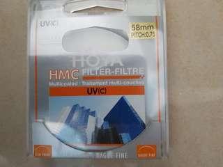 Hoya 58mm UVc Filter/ Protector
