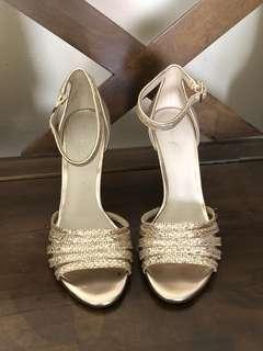 Aldo glittery heels