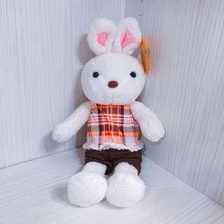 🚚 免運!! 現貨 超可愛法國兔娃娃 歡樂兔娃娃 兔子娃娃