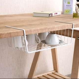 Space saving hanging s storage rack for cabinets wardrobe 儲物掛架