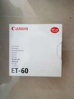 Canon ET-60 58mm 鏡頭罩