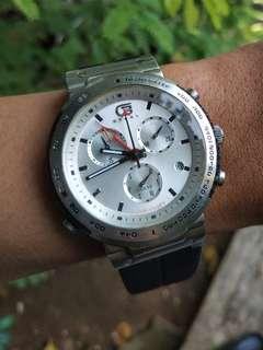 Guess Steel Chronograph