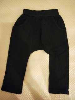 🚚 【五零方案】BABYCITY 黑長褲