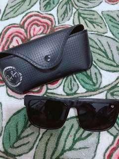 Unisex Black Sunglasses (GOOD AS NEW-worn once)