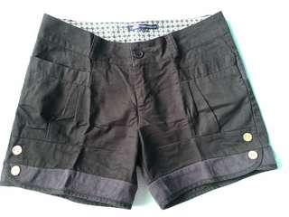 Polo black shorts